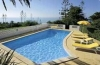 Property pool and ocean view